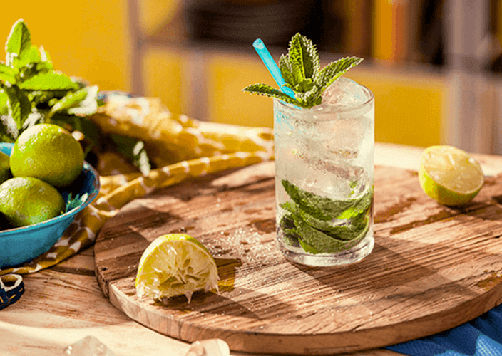 Mumm Tropical Julep